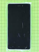 Дисплей Xiaomi Redmi 3S с сенсором, корпусом, черный, Оригинал