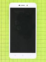 Дисплей Xiaomi Redmi 4A с сенсором, панелью, белый Оригинал