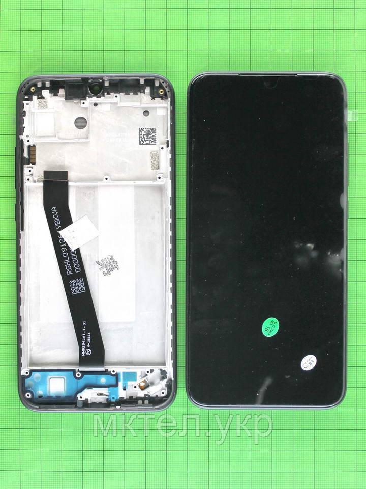 Дисплей Xiaomi Redmi 7 с сенсором, панелью, черный Оригинал #560610096033
