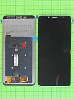 Дисплей Xiaomi Redmi Note 5 с сенсором, черный Оригинал OEM
