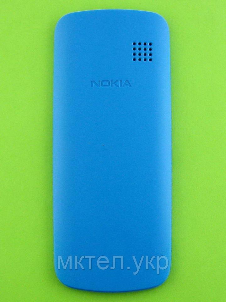 Крышка батареи Nokia 109, голубой Оригинал #9448249
