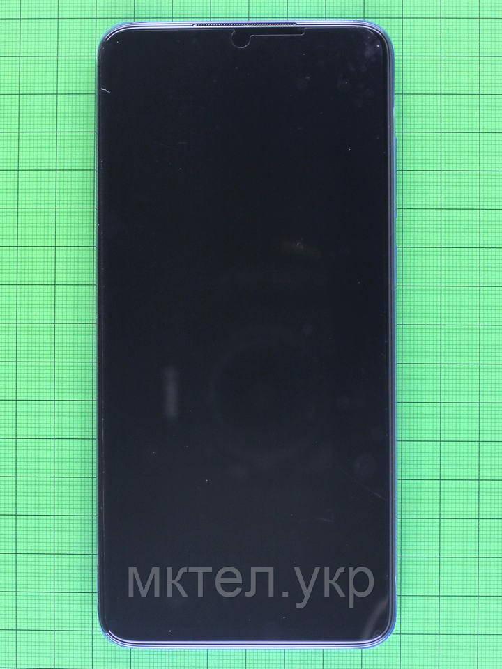 Дисплей Xiaomi Redmi Note 8 Pro с сенсором, корпусом, синий Оригинал #56000G00G700