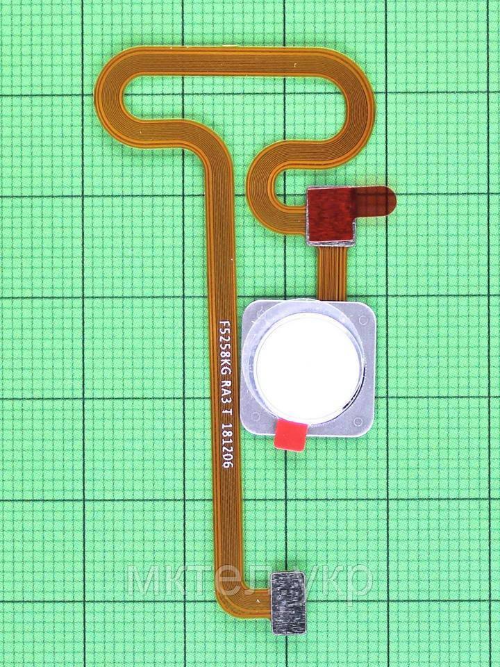 Шлейф сканера отпечатков пальца Xiaomi Mi Mix 2S, белый Оригинал