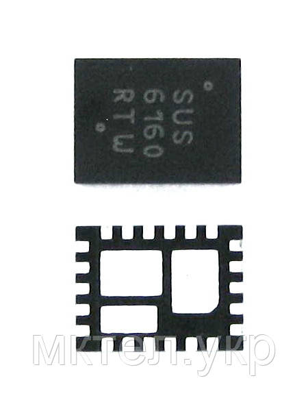 Samsung E1070 IC-VOL. DETECTOR SUS6160MNTWG,QFN,22P,3x Оригинал #1203-005498