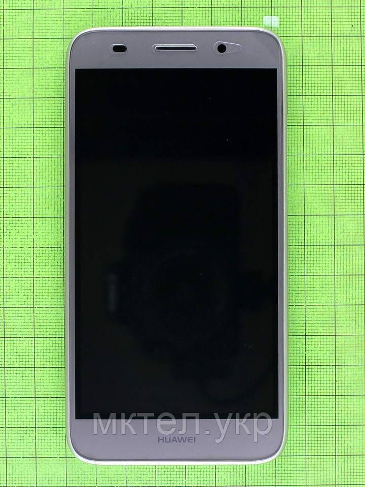 Дисплей с сенсором Huawei Y3 2017 (CRO-U00) в корпусе, золотистый, Оригинал #97070RBK