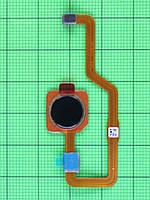 Шлейф сканера отпечатков пальца Xiaomi Mi Mix 3 черный Оригинал #492131019076