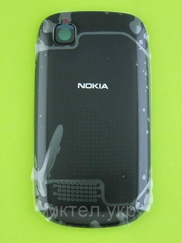 Крышка батареи Nokia Asha 201, серый Оригинал #02502Q0