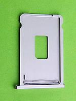 Держатель SIM карты iPhone 2G, серебристый orig-china