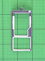 Держатель SIM карты Nomi i5071 Iron-X1, черный Оригинал