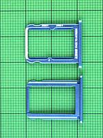 Держатель SIM карты Xiaomi Mi A2, синий Оригинал