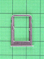 Держатель SIM карты Xiaomi Mi Note 3, золотистый Оригинал