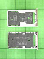 Держатель SIM карты Xiaomi Redmi 4, золотистый Оригинал