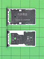 Держатель SIM карты Xiaomi Redmi 4X, черный orig-china
