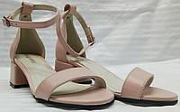 Босоножки женские кожаные маленького размера от производителя модель О-1014М, фото 1