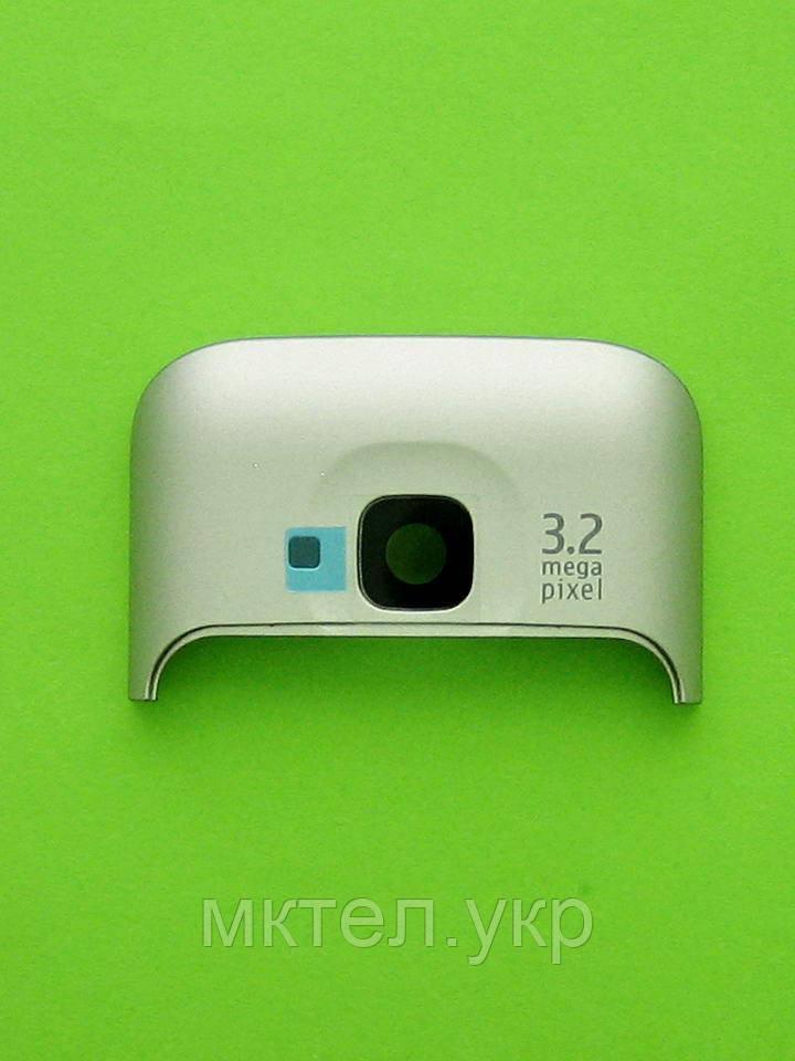 Панель антенны Nokia C5-00, серый, Оригинал #0257701