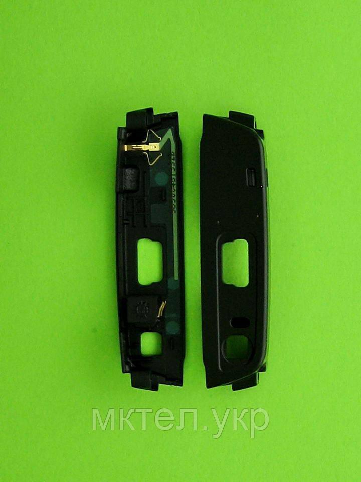 Панель антенны Nokia N95 8Gb, нижняя, черный Оригинал #5650048