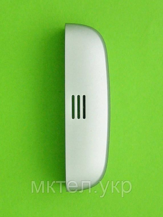 Панель торцевая Nokia C5-06, нижняя, серебристый Оригинал #9447418