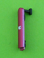 Заглушка SIM карты Nokia N8, розовый Оригинал #9905852