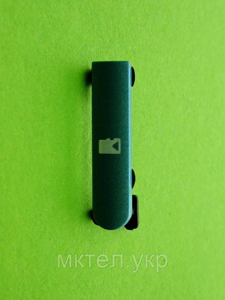 Заглушка карты памяти Nokia N8, голубой, Оригинал #9904644