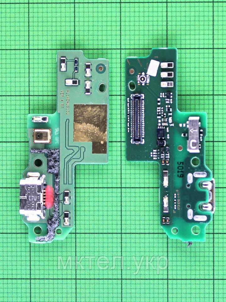 Плата разъема USB Huawei P9 Lite (VNS-L21), orig-used