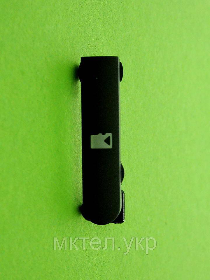 Заглушка карты памяти Nokia N8, серый Оригинал #9904261