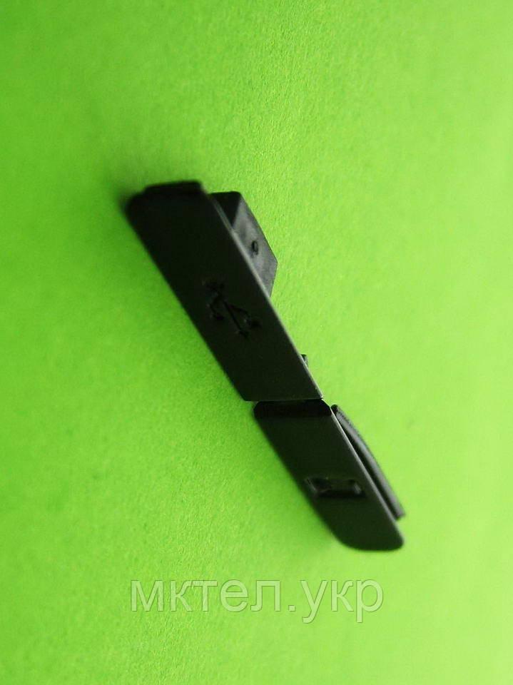 Заглушка карты памяти, USB Nokia 5730, черный Оригинал #9903641