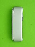 Панель торцевая Nokia X7, верхняя с вспышкой, серебристый Оригинал #5651046