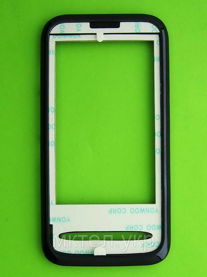 Передняя панель FLY E170 без стекла, черный Оригинал #50111732