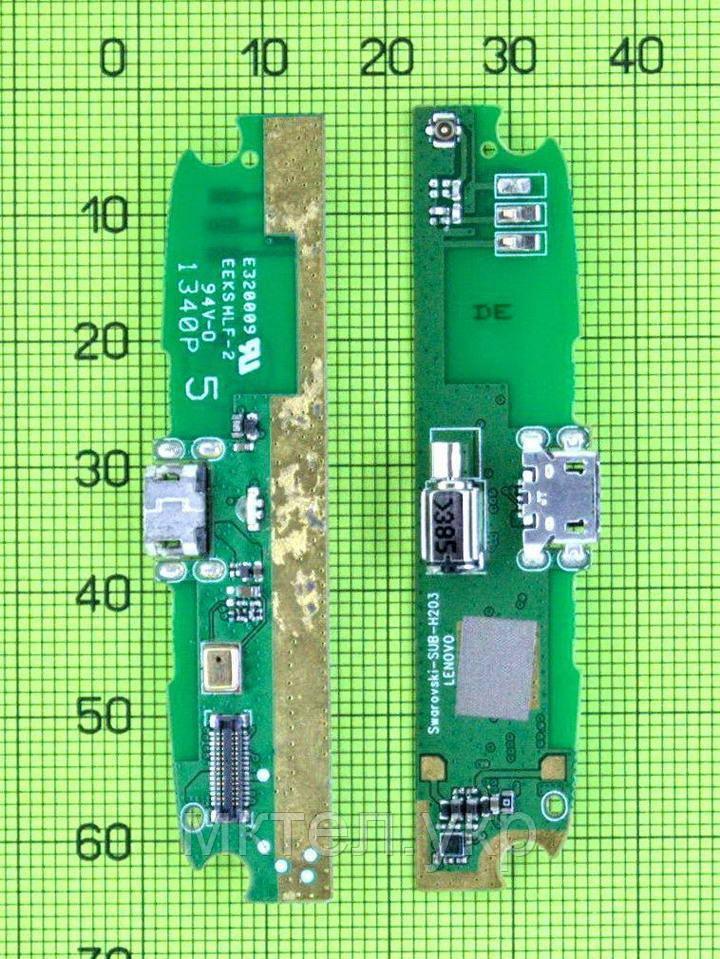 Плата разъема USB Lenovo S820, orig-china