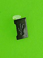 Заглушка разъема USB Nokia X3-00, черный Оригинал #9444679