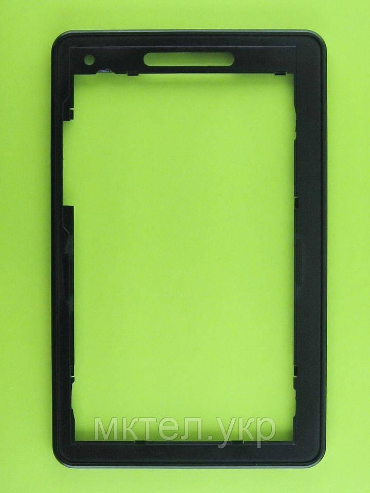 Передняя панель FLY IQ310 Panorama, черный Оригинал #1.14.101.0335