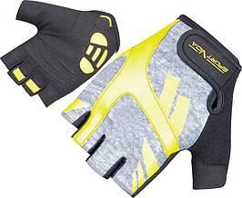 Перчатки для фитнеса SportVida SV-AG00031 (XS) Black/Yellow