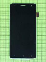 Дисплей FLY FS504 Cirrus 2 с сенсором, черный copyAA