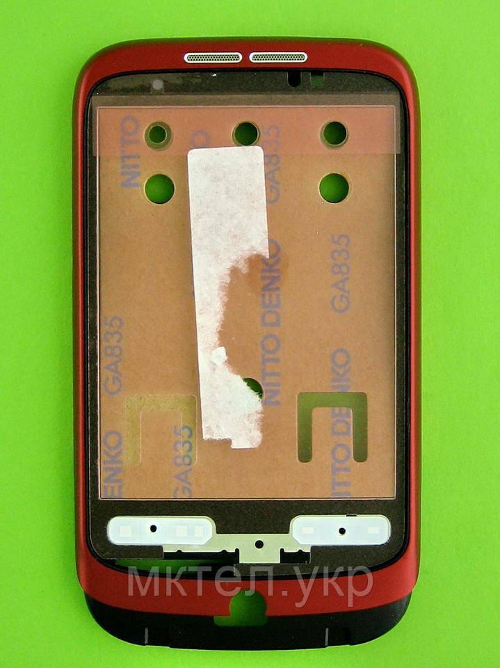 Передняя панель HTC Wildfire A3333, красный orig-china
