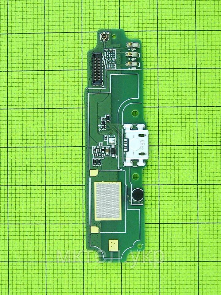Плата разъема USB Xiaomi Redmi 4A с микрофоном, Оригинал #580C34110203