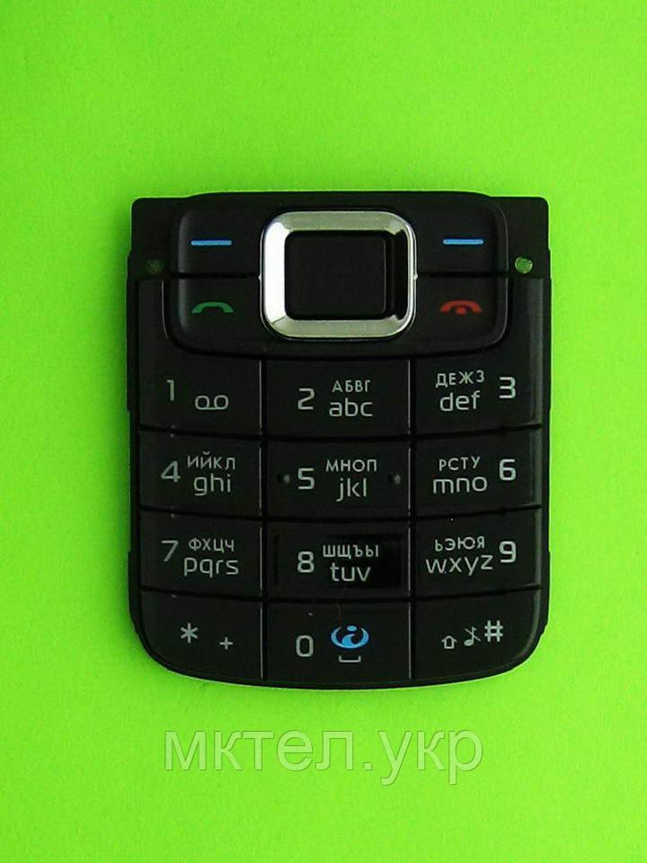 Клавиатура Nokia 3110 classic, черный, Оригинал #9791705