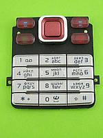 Клавиатура Nokia 6300, красный copyA