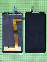 Дисплей HTC Desire 516 Dual SIM с сенсором, черный copyAA