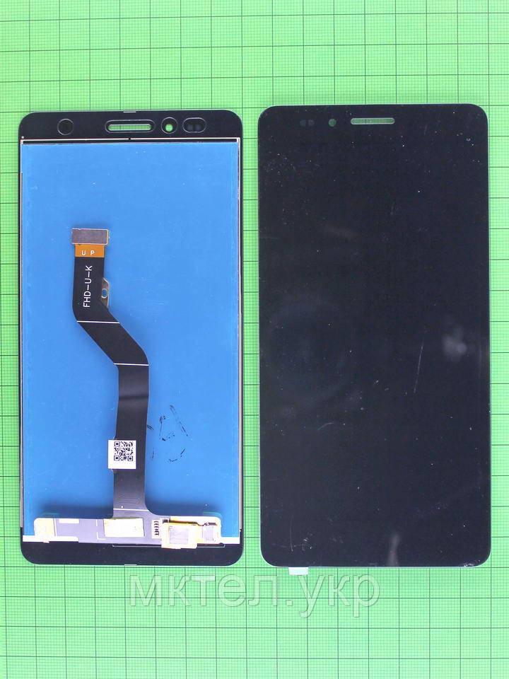 Дисплей Huawei GR5 (KII-L21) с сенсором, черный self-welded