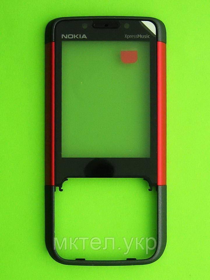 Передняя панель Nokia 5610, красный, Оригинал #0250063