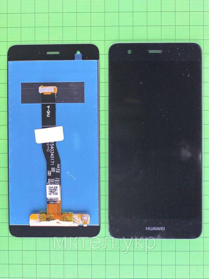 Дисплей Huawei Nova (CAN-L11) с сенсором без ic, черный self-welded