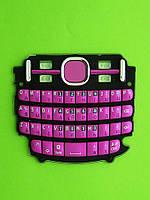 Клавиатура Nokia Asha 200, розовый Оригинал #9792V59