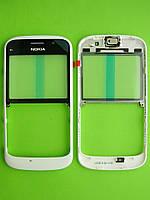 Передняя панель Nokia E5, белый Оригинал #0257085