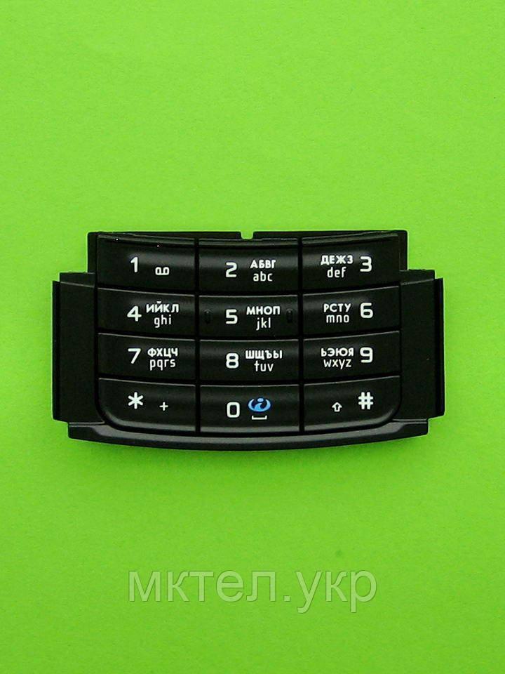 Клавиатура Nokia N95 8Gb цифровая, черный, Оригинал #9792892