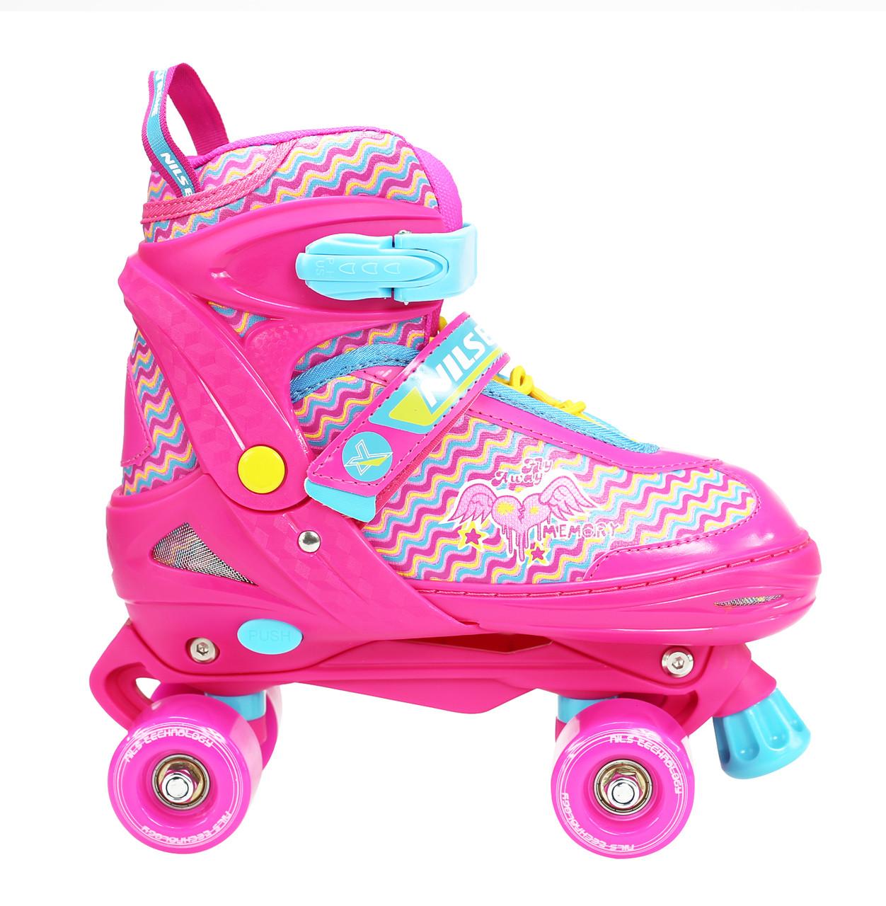 Роликовые коньки Nils Extreme NQ4411A Size 34-37 Pink