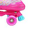 Роликовые коньки Nils Extreme NQ4411A Size 34-37 Pink, фото 4