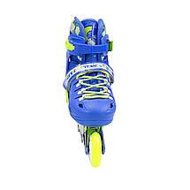 Роликовые коньки Nils Extreme NA1015A Set Size 31-34 Blue, фото 2