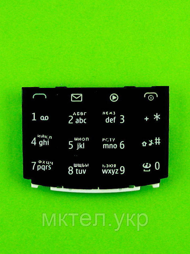 Клавиатура Nokia X3-02, серый copyAA