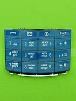 Клавиатура Nokia X3-02, синий Оригинал #9791K85