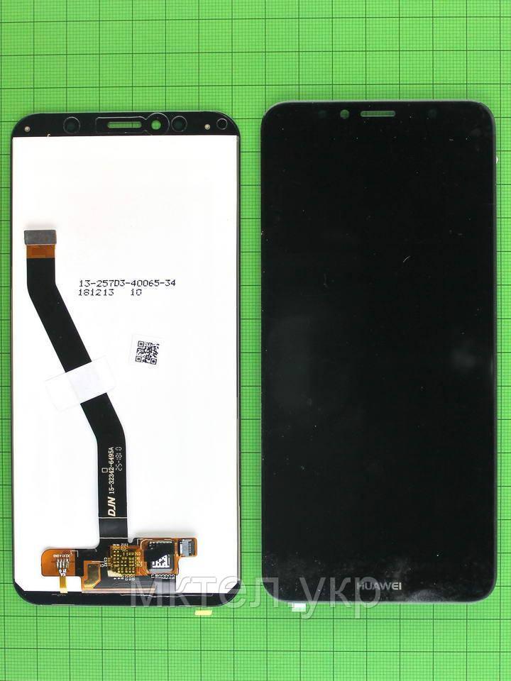 Дисплей Huawei Y6 2018 (ATU-L21) с сенсором, черный self-welded